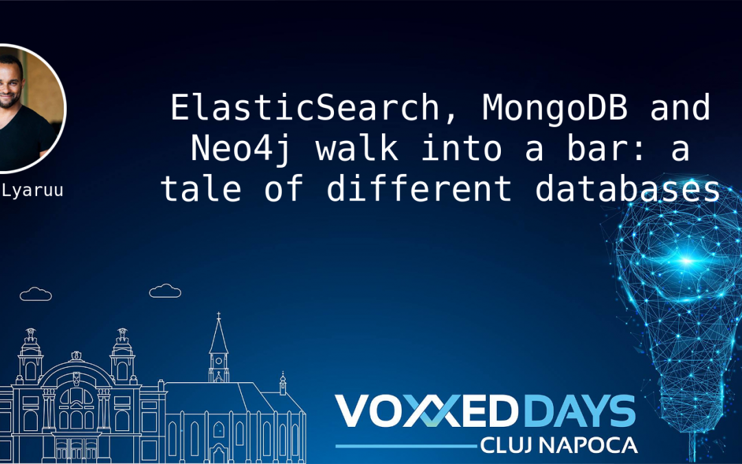 ElasticSearch, MongoDB and Neo4j walk into a bar: a tale of different databases