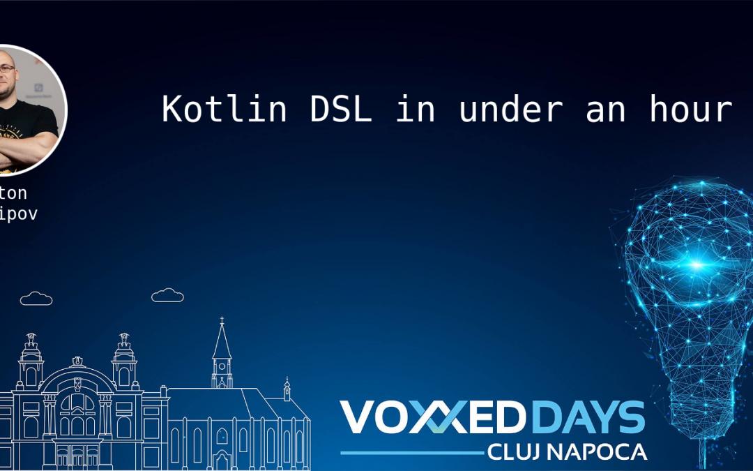 Kotlin DSL in under an hour