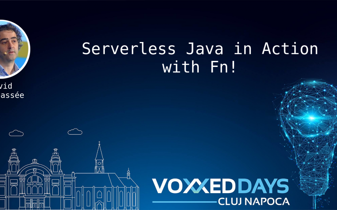 Serverless Java in Action with Fn!